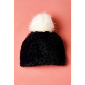 "NWT! Anthropologie pommed ""Tori Pinned Beanie"""